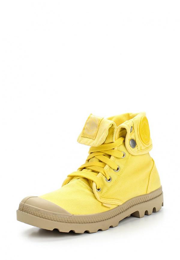 Кеды Palladium 92353 жёлтые