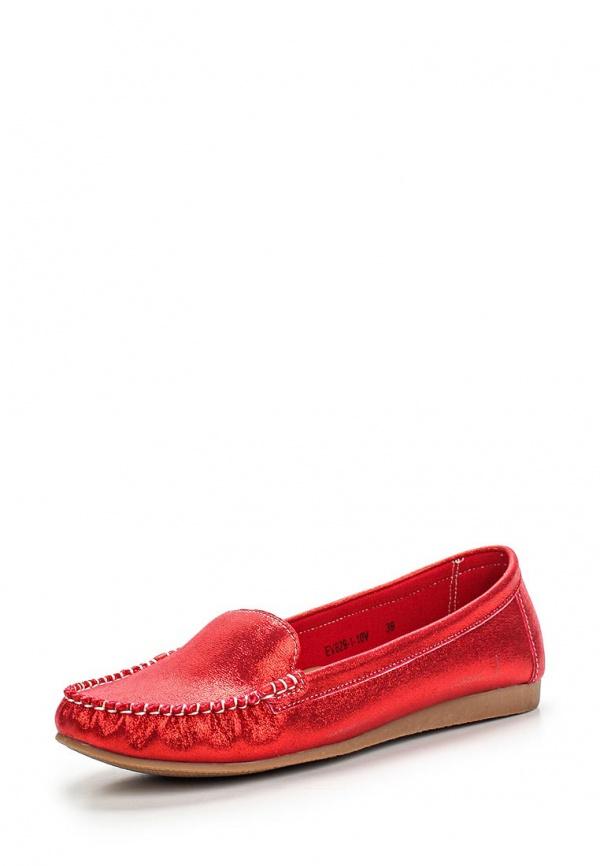 Мокасины Evita EV829-1-10V красные