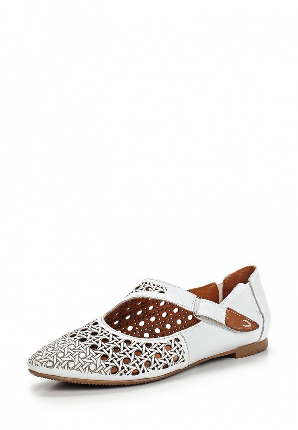 Туфли Ascalini R1454 белые
