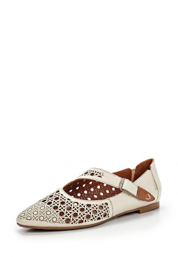 Туфли Ascalini R1455 бежевые