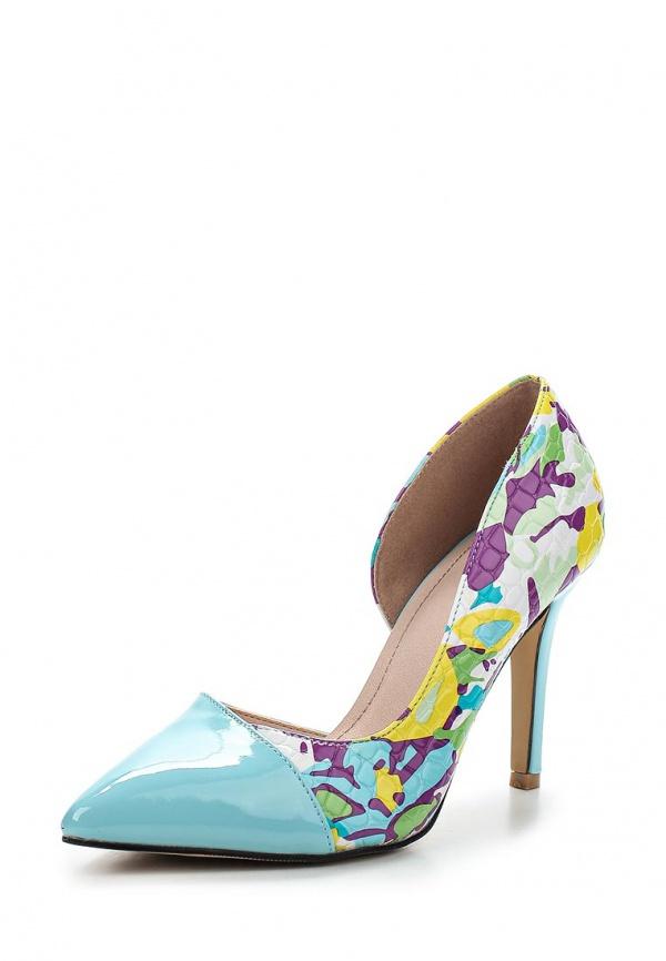 Туфли Sergio Todzi GH170 голубые, мультиколор