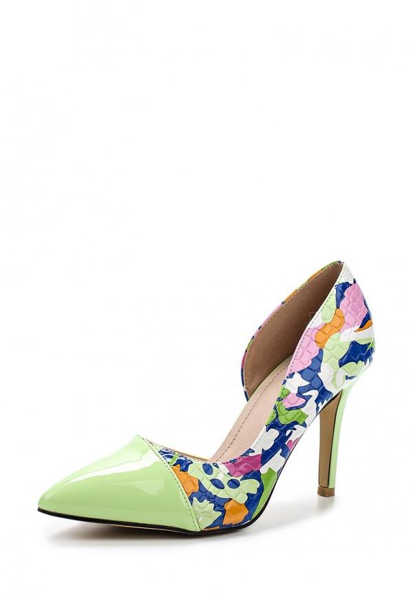 Туфли Sergio Todzi GH170 зеленые, мультиколор