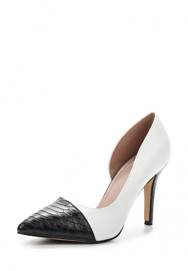 Туфли Sergio Todzi GH173 белые, чёрные