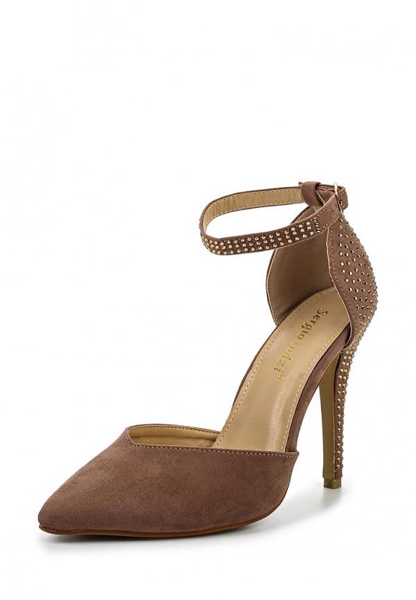 Туфли Sergio Todzi JU426 коричневые