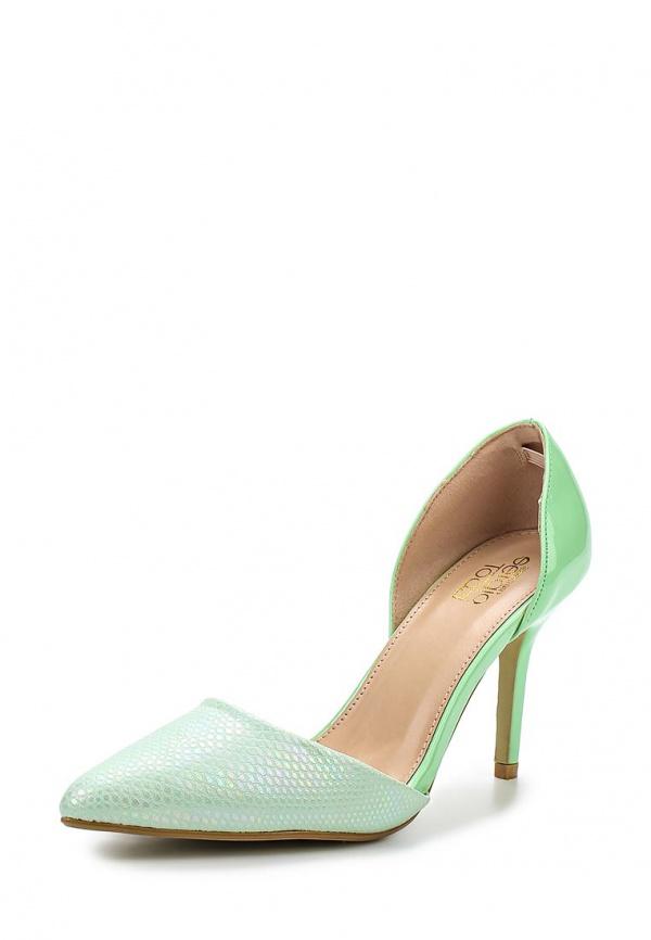 Туфли Sergio Todzi R161 зеленые