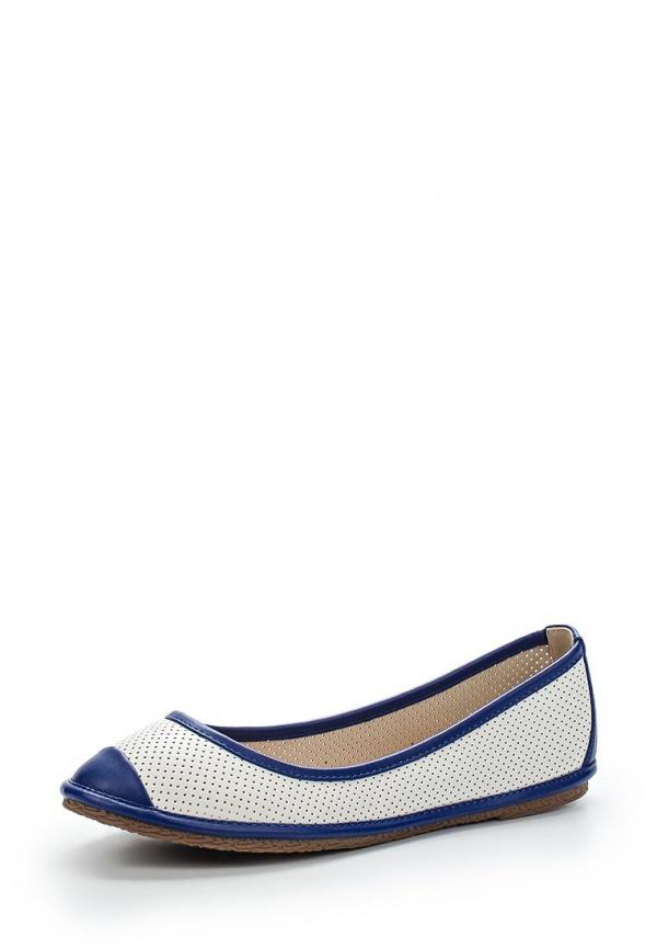 Балетки Wilmar 51-SE-03 S белые, синие