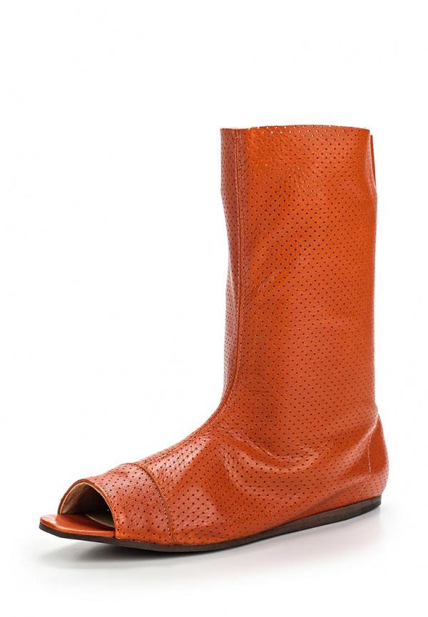 Полусапоги Dali 169-102-1-8 оранжевые
