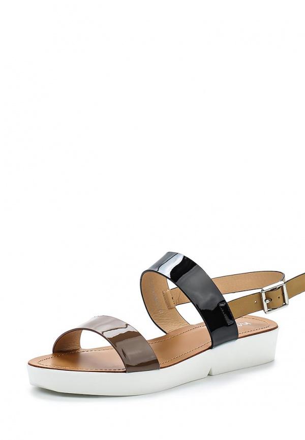 Сандалии Instreet 151-27WL-004SS коричневые, чёрные