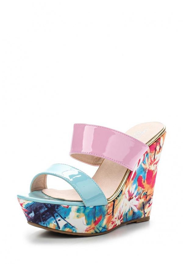 Сабо Sergio Todzi GH176 голубые, розовые