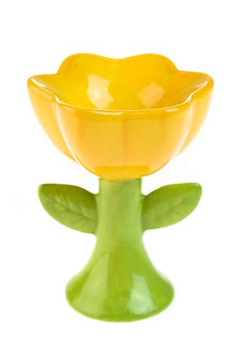 """Подставки для яиц Красный куб Подставка для яйца """"Весенний цветок"""""""