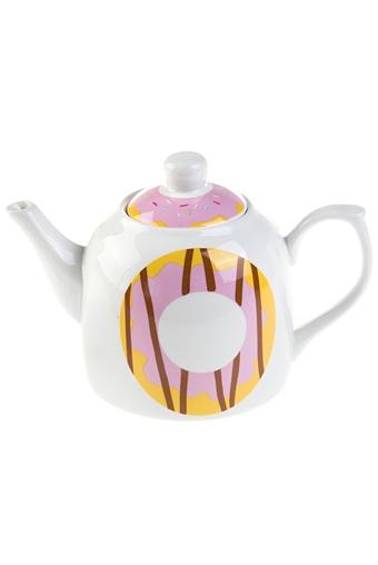 """Чайные наборы Красный куб Чайник заварочный """"Пончики"""""""