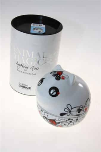 """Емкости для сыпучих и для жидкостей Красный куб Емкость для мелочей """"Кити"""""""