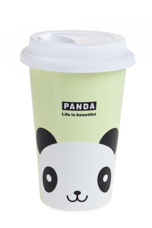"""Термокружки и стаканы для чая/кофе Красный куб Стакан для чая/кофе """"Панда"""""""