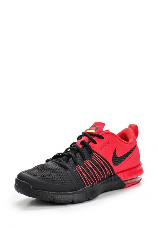 Кроссовки Nike 705353-601 красные, чёрные
