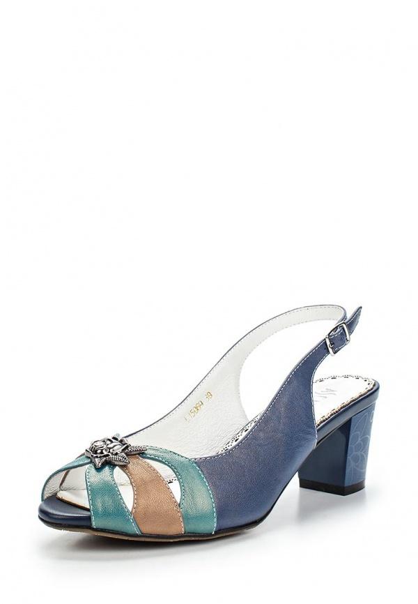 Босоножки Ascalini L15069 синие
