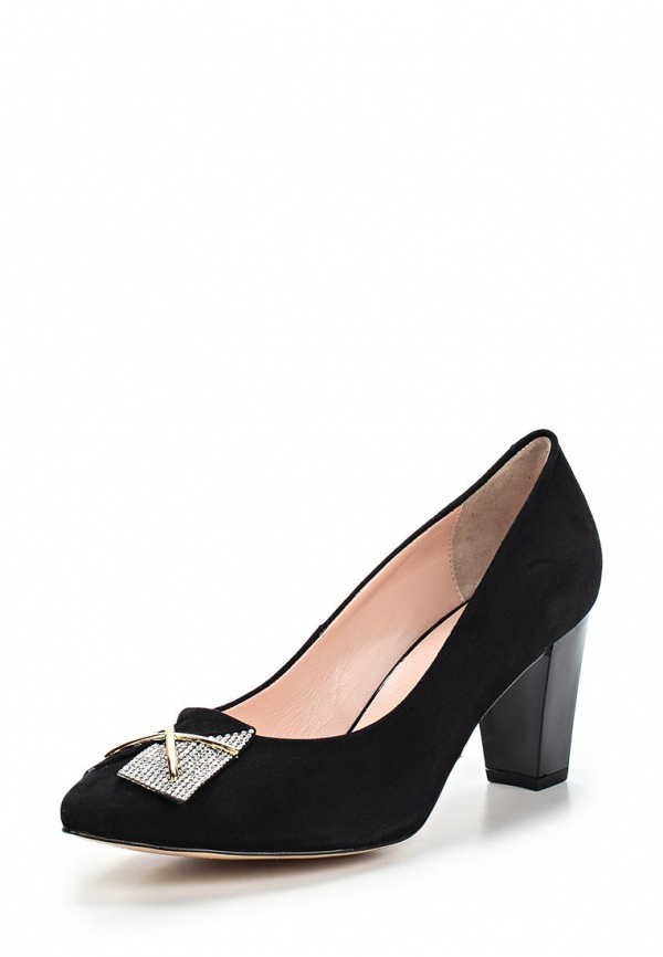 Туфли Ascalini R1094 чёрные