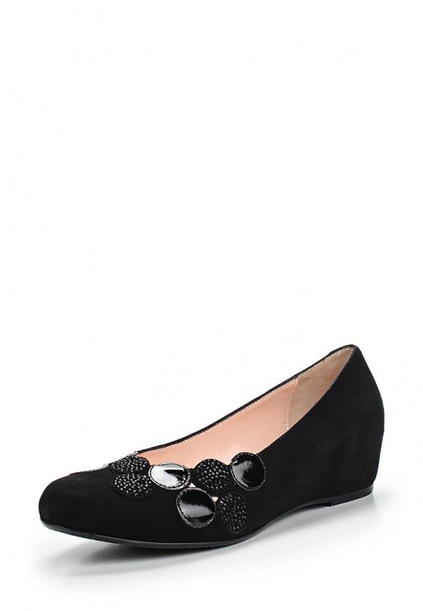 Туфли Ascalini R1647 чёрные