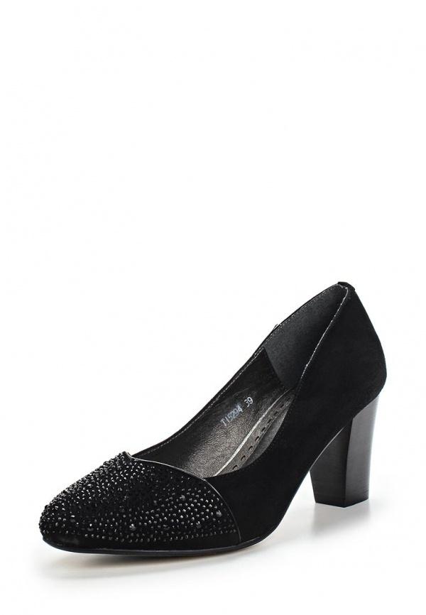 Туфли Ascalini T15294 чёрные