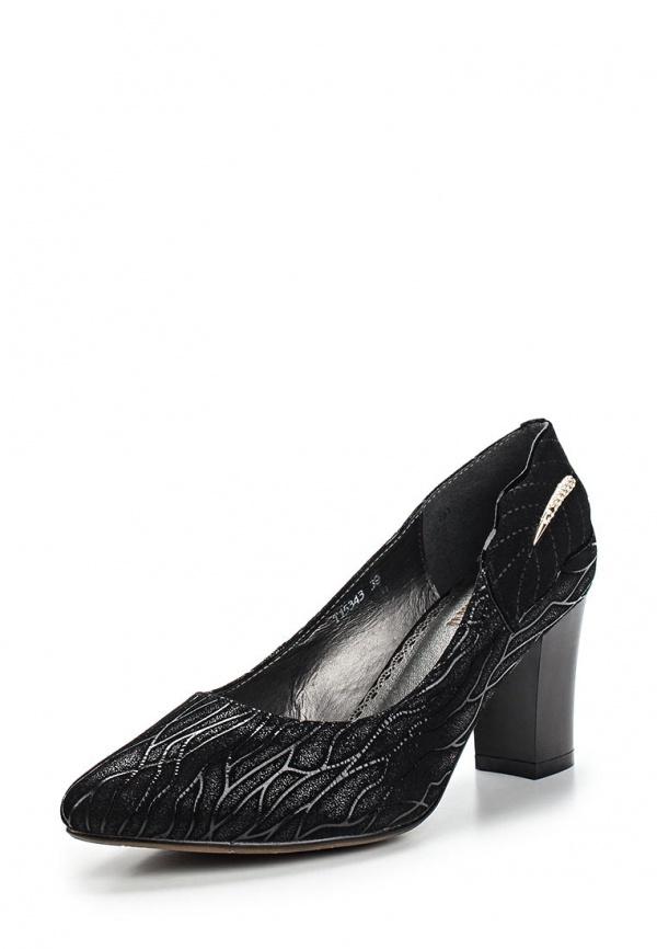 Туфли Ascalini T15343 чёрные