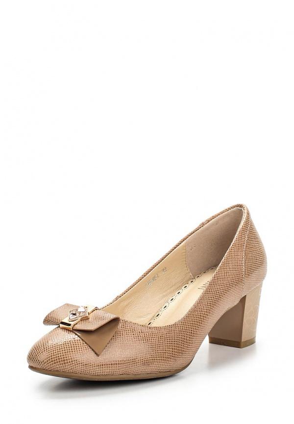 Туфли Ascalini T15461 бежевые
