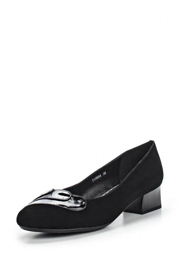 Туфли Ascalini T15664 чёрные