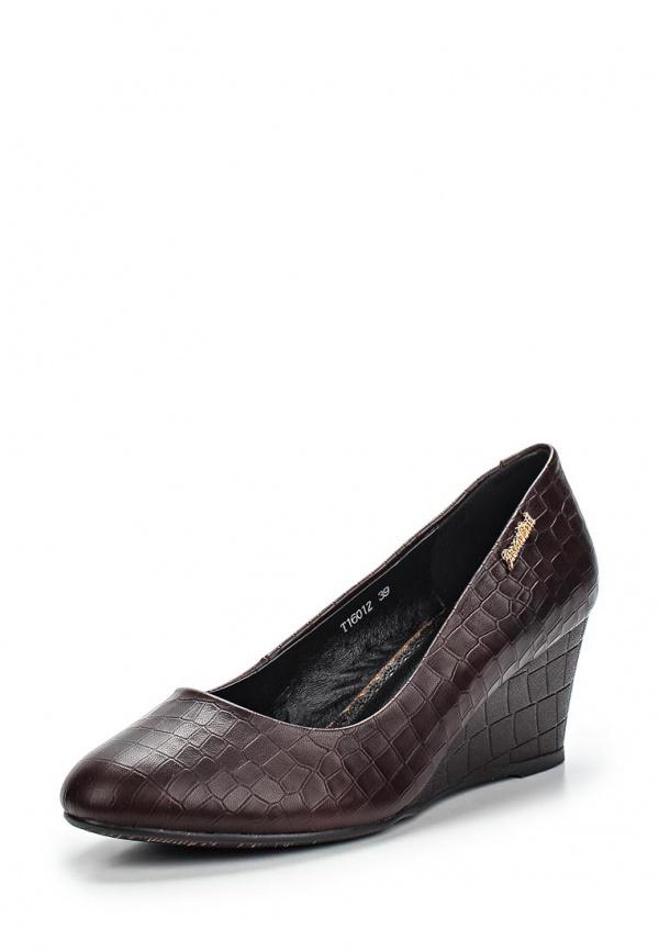 Туфли Ascalini T16012 коричневые