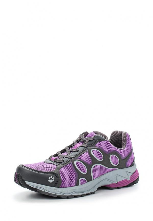 Кроссовки Jack Wolfskin 4014141-2055 серые, фиолетовые