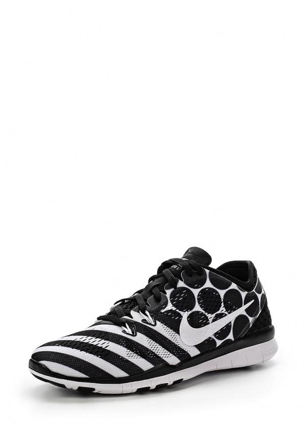 Кроссовки Nike 704695-008 белые, чёрные