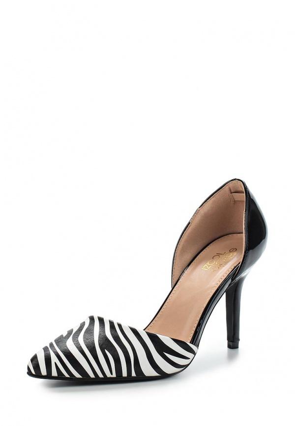 Туфли Sergio Todzi R161 белые, чёрные