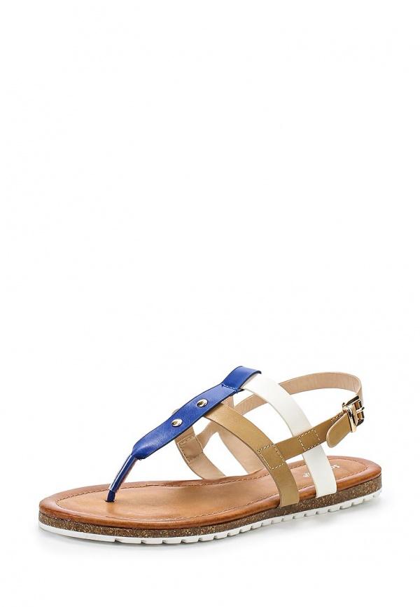 Сандалии Sergio Todzi RMD1281 белые, коричневые, синие