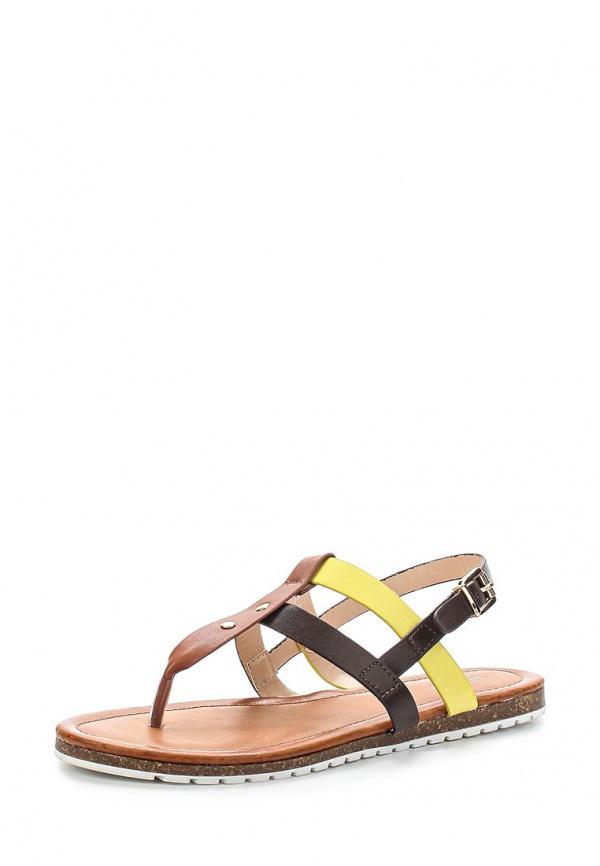 Сандалии Sergio Todzi RMD1281 бежевые, жёлтые, коричневые