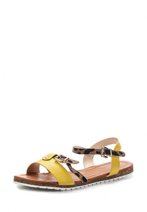 Сандалии Sergio Todzi RMD1282 жёлтые, коричневые