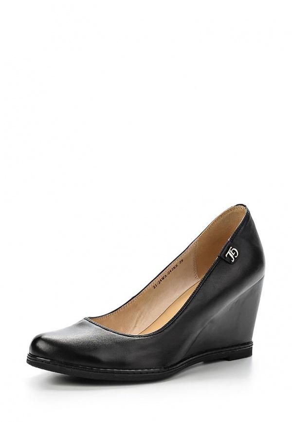 Туфли Zenden Woman 21-24WA-043KK чёрные