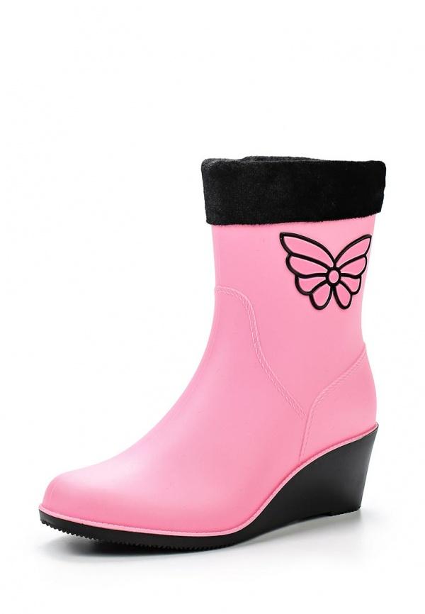 Резиновые сапоги Mon Ami 1513X208K-78 розовые