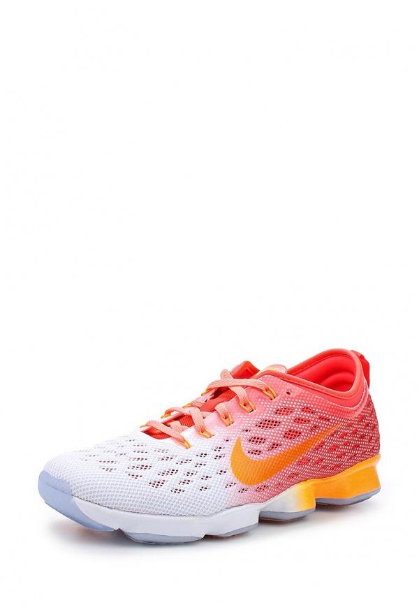 Кроссовки Nike 684984-602 белые, красные