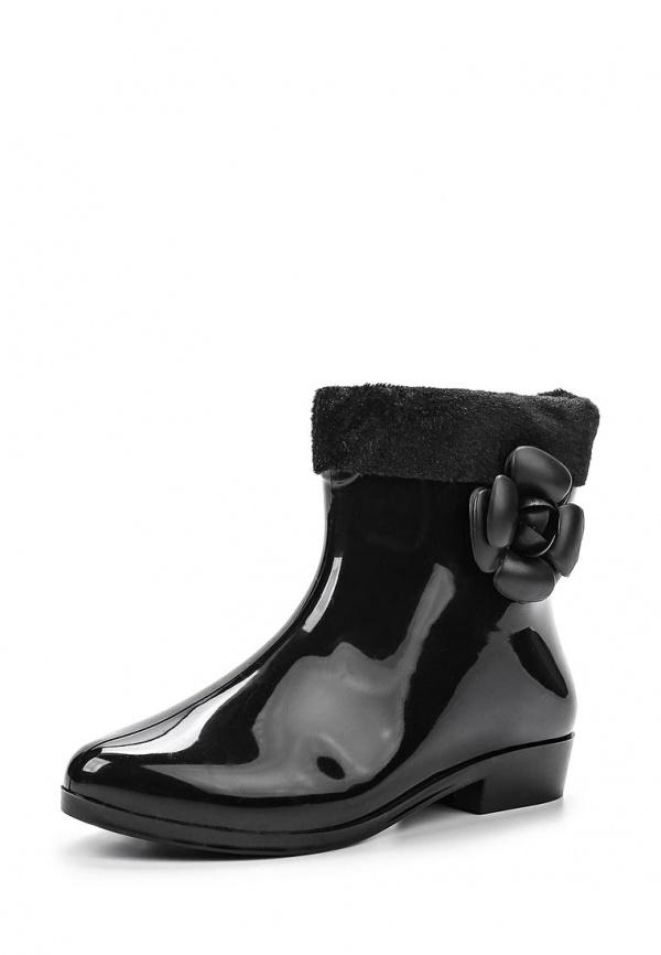 Резиновые сапоги Mon Ami 1513X208K-45 чёрные