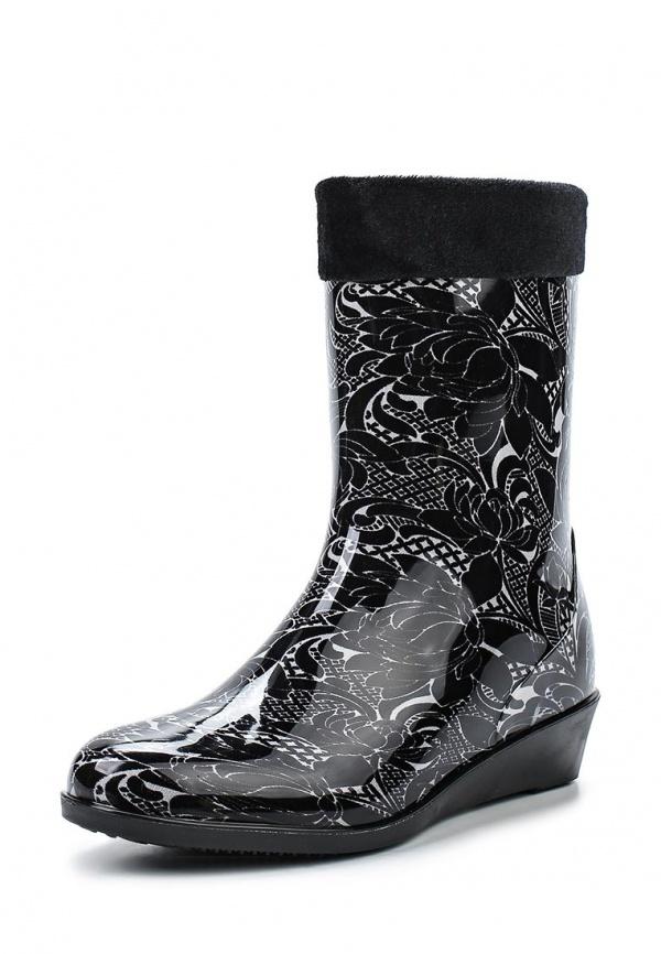 Резиновые сапоги Mon Ami 1513X208K-50 чёрные
