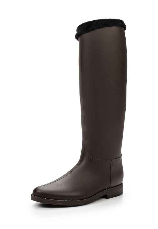 Резиновые сапоги Mon Ami 1513X208K-101 коричневые