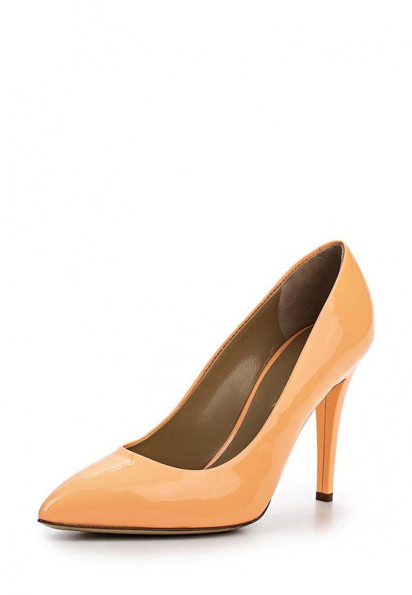 Туфли Vicini Tapeet C56001 оранжевые