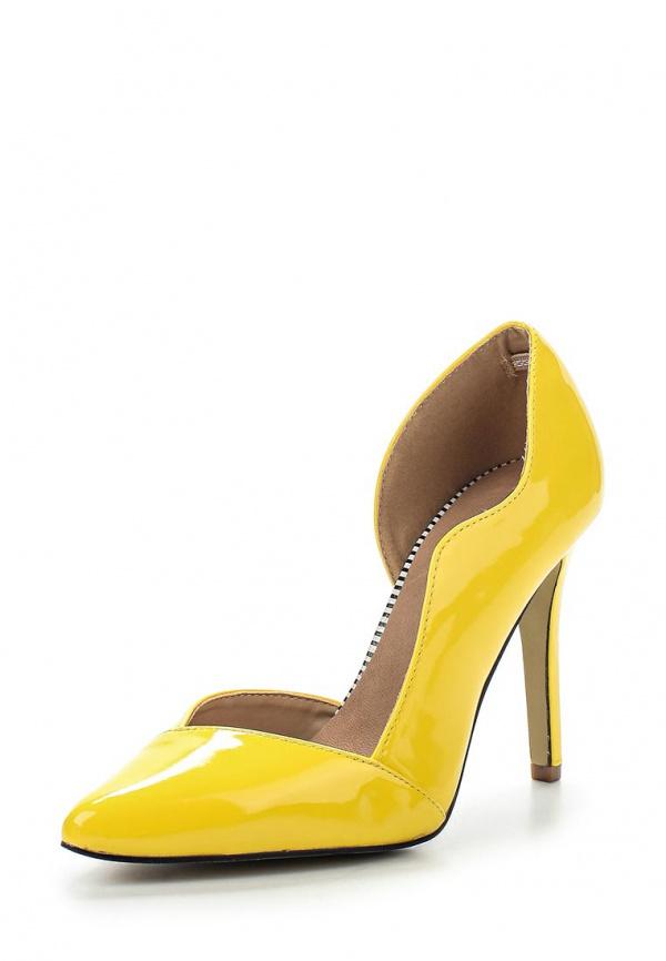 Туфли LOST INK. SS15LIW0211001502 жёлтые