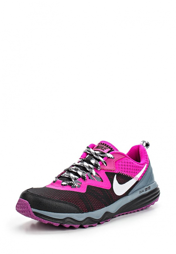 Кроссовки Nike 652869-011 фиолетовые, чёрные