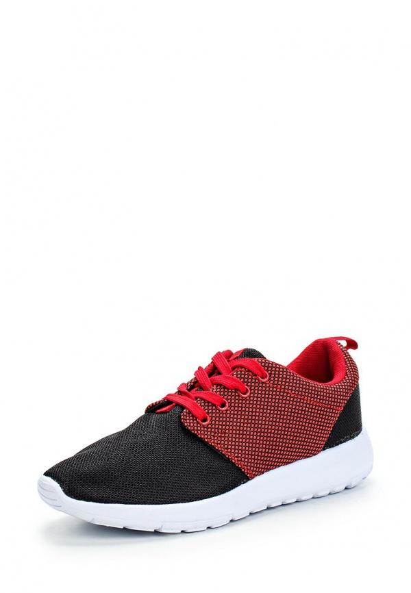 Кроссовки WS Shoes YT-1 красные, чёрные