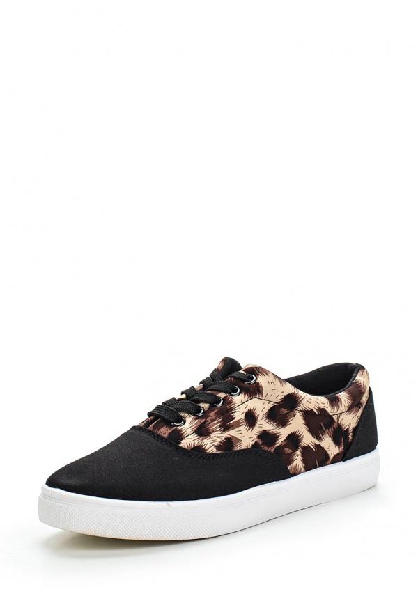 Кеды WS Shoes 201 коричневые, чёрные