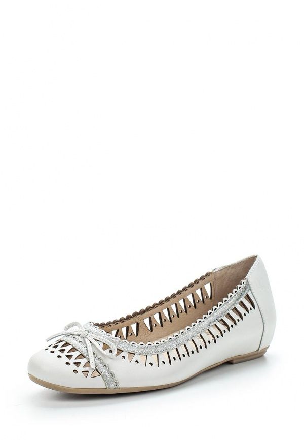 Балетки Caprice 9-9-22119-34-191 белые