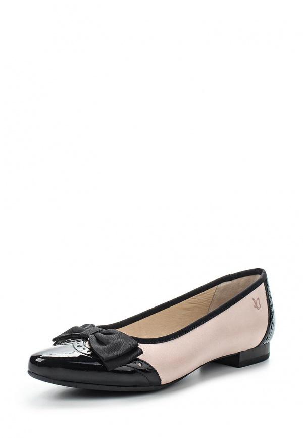 Туфли Caprice 9-9-22215-24-522 розовые, чёрные
