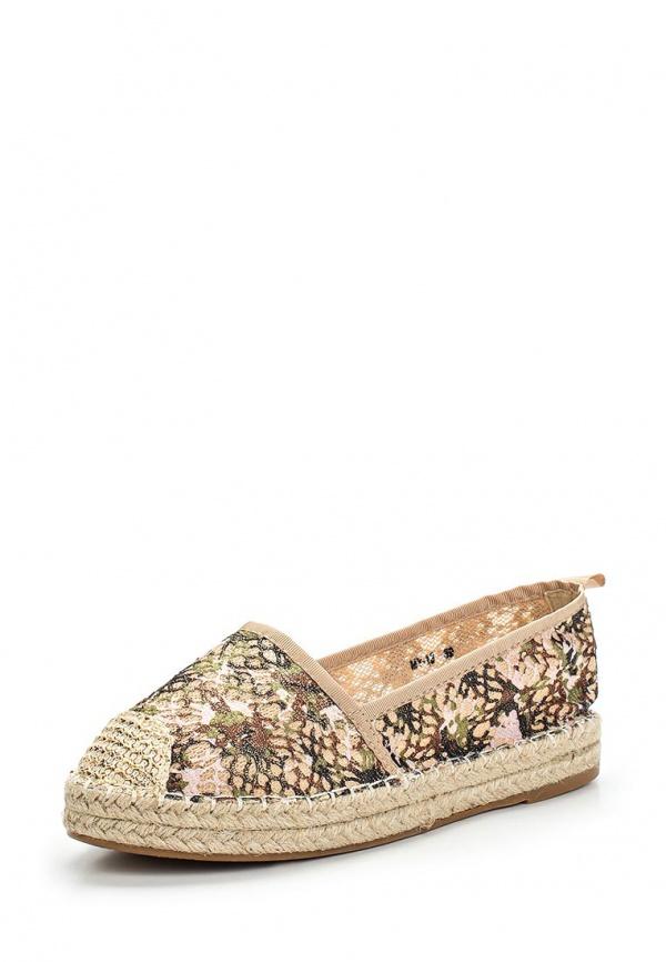 Эспадрильи WS Shoes MY-13 бежевые