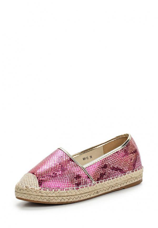 Эспадрильи WS Shoes MY-12 розовые