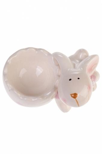 """Подставки для яиц Красный куб Подставка для яйца """"Улыбчивый зайка"""""""