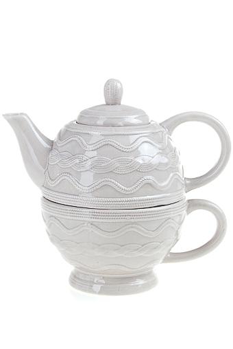 """Чайные наборы Красный куб Набор чайный """"Вязаный узор"""""""