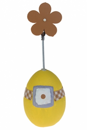 """Держатели-зажимы для фото Красный куб Держатель для фото """"Яйцо с цветочком"""""""